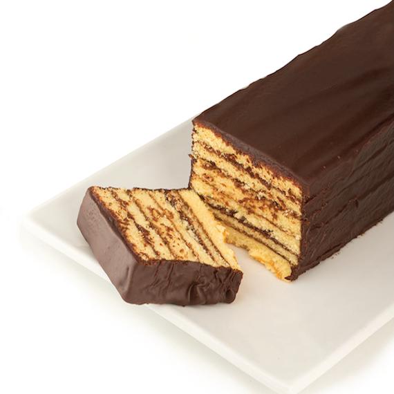 Miss Hulling's Split Layer Chocolate Cake