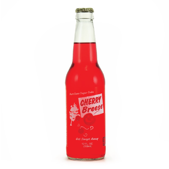 Cherry Breese Pure Cane Sugar Soda