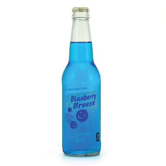 Blueberry Breese Pure Cane Sugar Soda