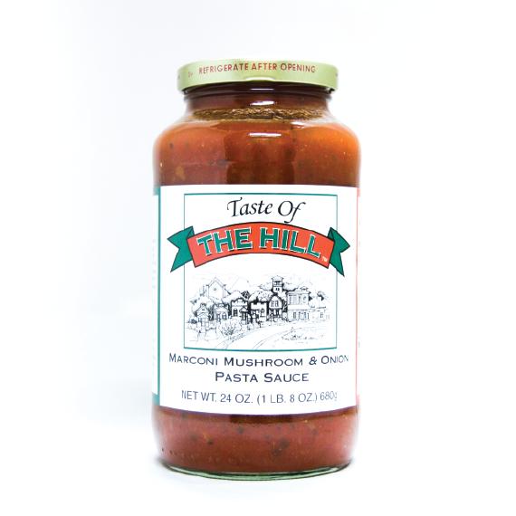 Taste of the Hill Mushroom & Onion Pasta Sauce