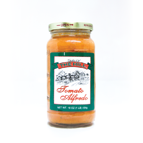 Taste of the Hill Tomato Alfredo Sauce