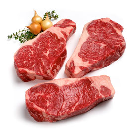 USDA Prime Strip Steak Gift Box