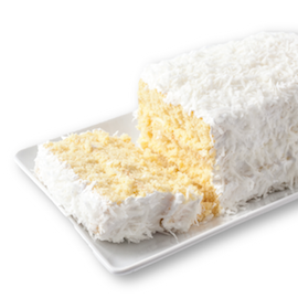 Miss Hulling's Split Layer Coconut Cake