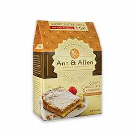 Ann & Allen White Chocolate Raspberry Gooey Butter Cake Mix