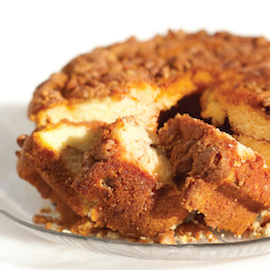 My Grandma's Cinnamon Coffee Cake - No Nuts