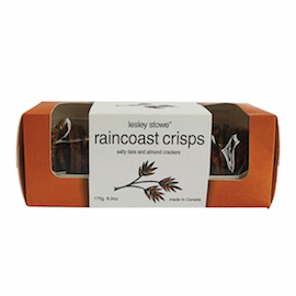 Raincoast Crisps Salty Date & Almond Crackers