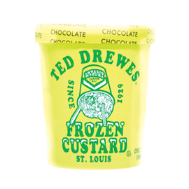 Ted Drewes Chocolate Custard