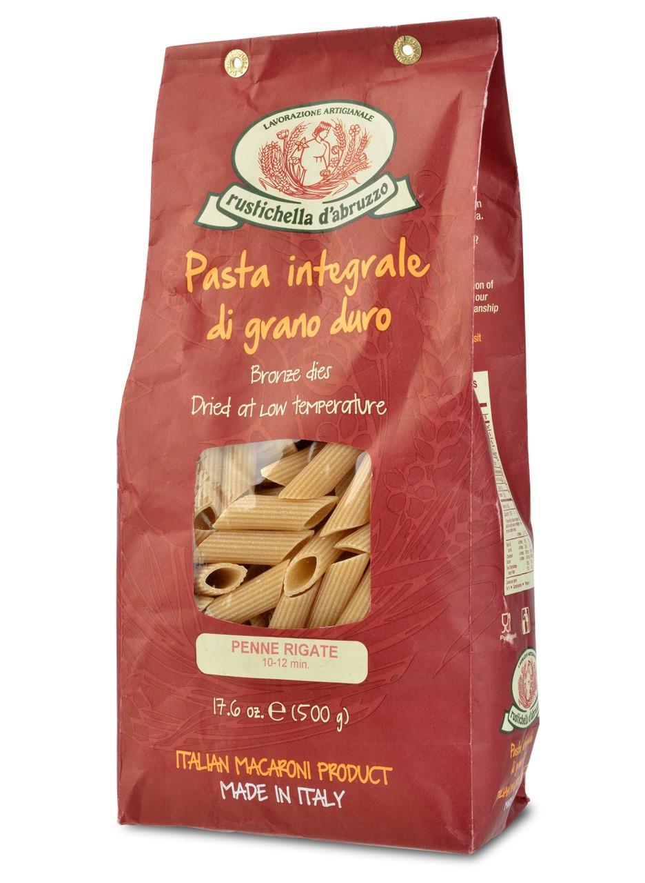 Rustichella d'Abruzzo Whole Wheat Penne Rigate
