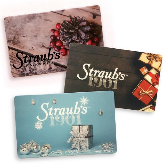 Straub's Gift Card