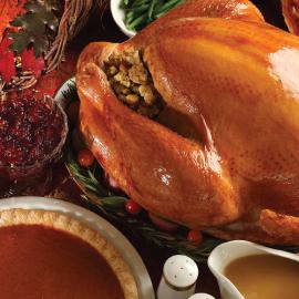 Complete Roasted Turkey Dinner