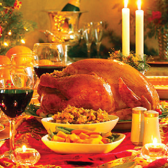 Complete Smoked Turkey Dinner