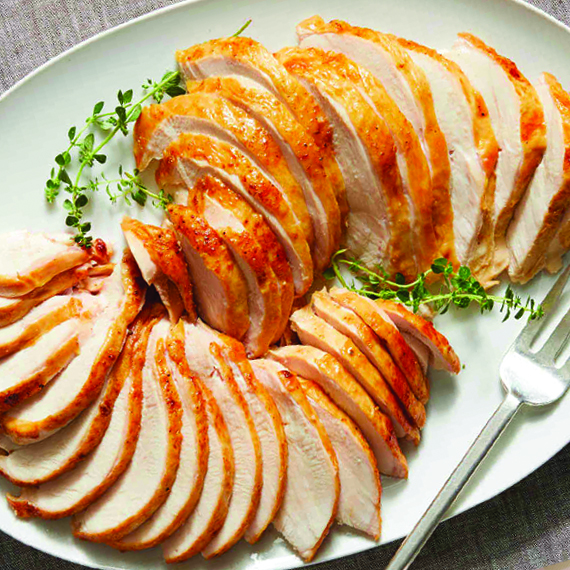 Smoked Turkey Breast, Sliced