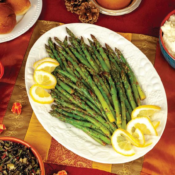 Asparagus with Lemon Pepper