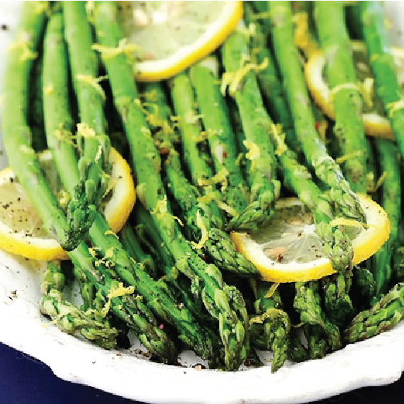 Asparagus with Lemon Pepper