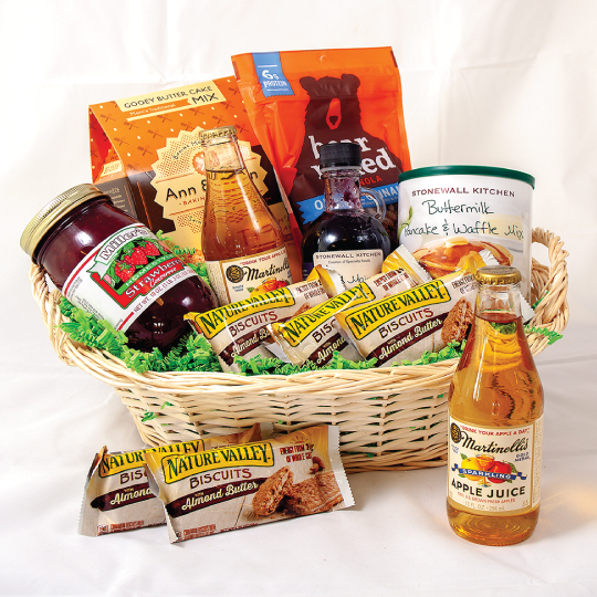 Kitchen Bouquet Substitute: Holiday Breakfast Gift Basket