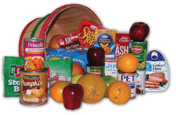 Christmas Food Basket - With Ham