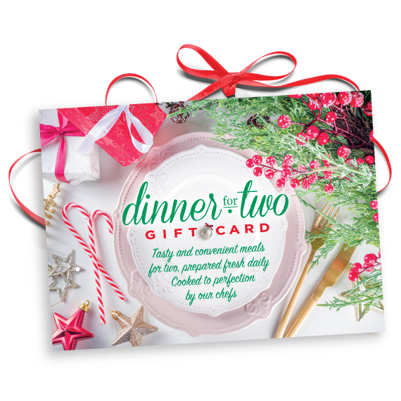 Dinner for Two Gift Certificate
