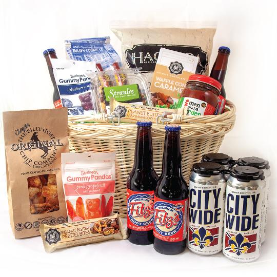 St. Louis Snackers Basket Beer