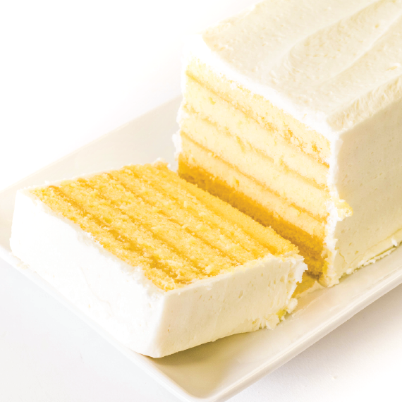 Miss Hulling's Split Layer Lemon Cake