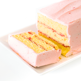 Miss Hulling's Split Layer Strawberry Cake